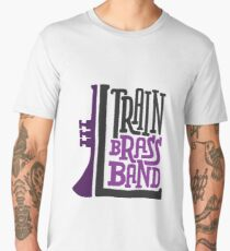 L Train Brass Band Men's Premium T-Shirt