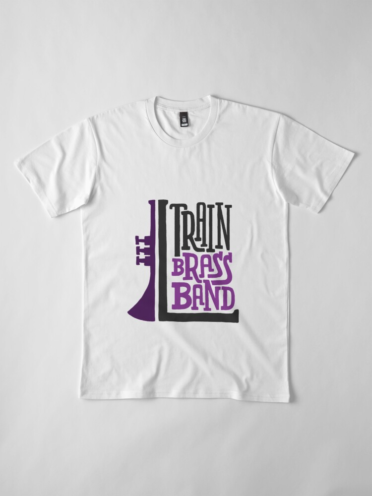 Alternate view of L Train Brass Band Premium T-Shirt