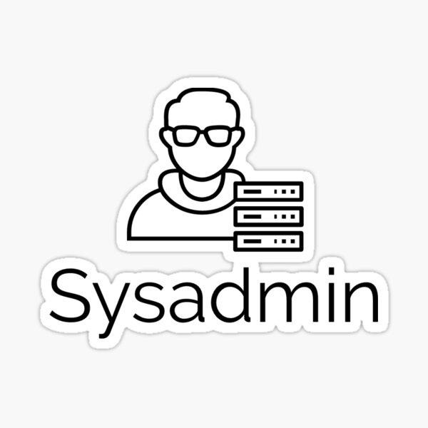 Sysadmin Sticker