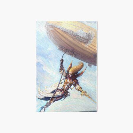 Airship Princess Art Board Print
