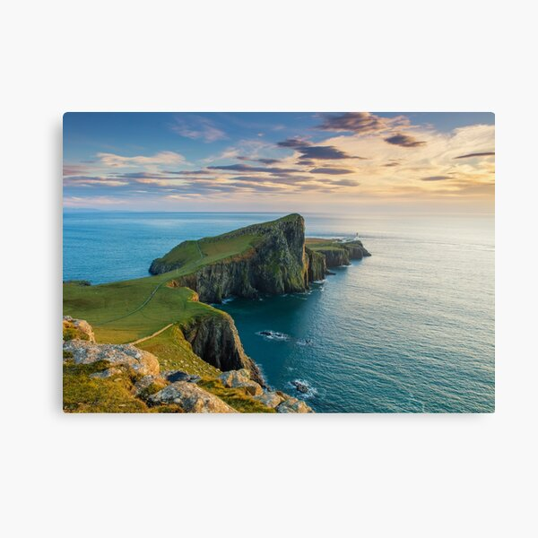 Neist Point Isle of Skye Canvas Print