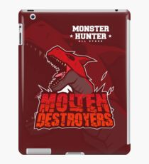 Monster Hunter All Stars - Molten Destroyers iPad Case/Skin