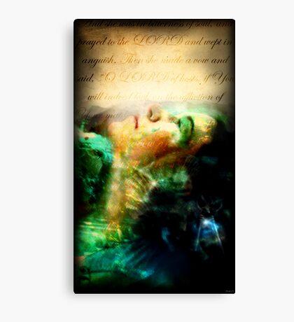 Hannah's Tears Canvas Print