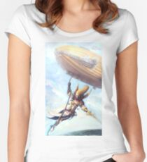 Airship Princess Fitted Scoop T-Shirt