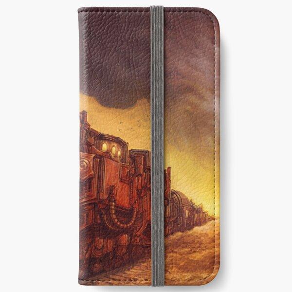 Steampunk Locomotive iPhone Wallet