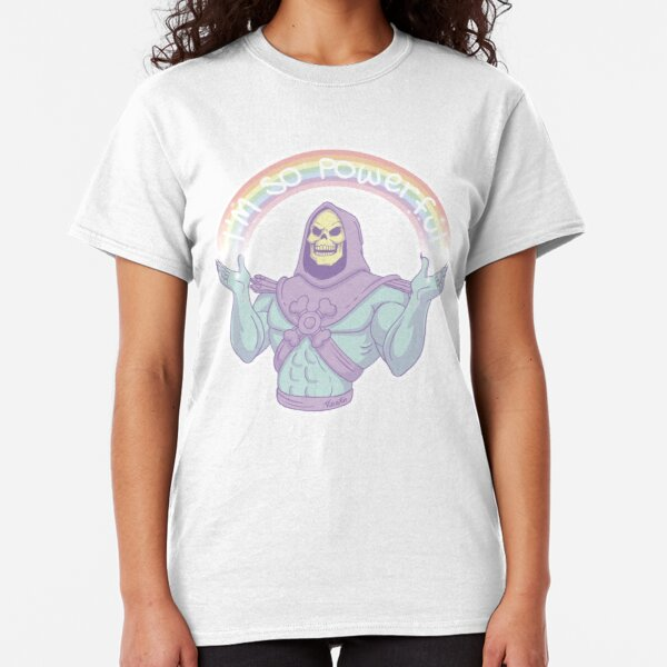 Skeletor ORKO Kult Girlie Damen Girls Ladies T-Shirt He-Man MOTU Grayskull