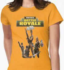 Battle Royale Fortnite Women's Fitted T-Shirt
