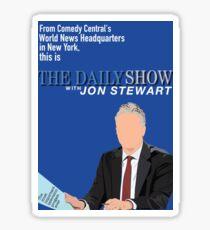 Daily Show with Jon Stewart Sticker