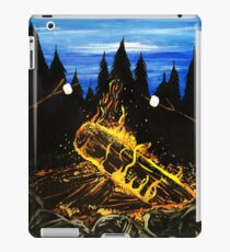 Camp Fire iPad Case/Skin