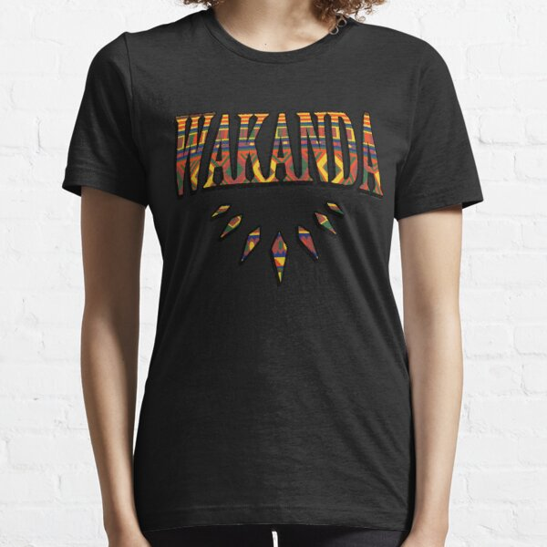 Wakanda African Pattern Essential T-Shirt