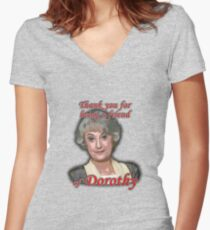 Friend of Dorothy Fitted V-Neck T-Shirt