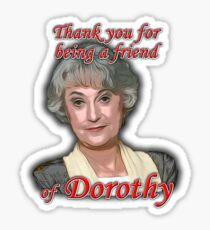 Friend of Dorothy Sticker