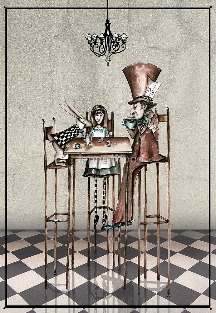 « Thé Alice » par Jenny Wood