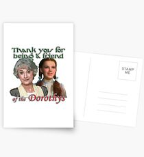 Thank you for being a friend of The Dorothys Postcards