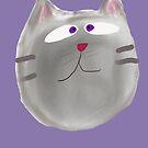 Cat drawing  by Claybornnation