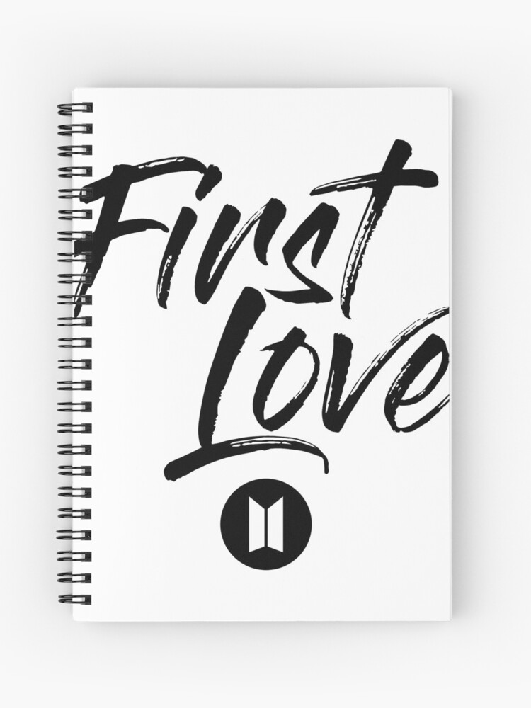 Bts Suga First Love Wings Spiral Notebook By Sullybunny Redbubble
