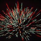 Fireworks Burst by Bill Spengler