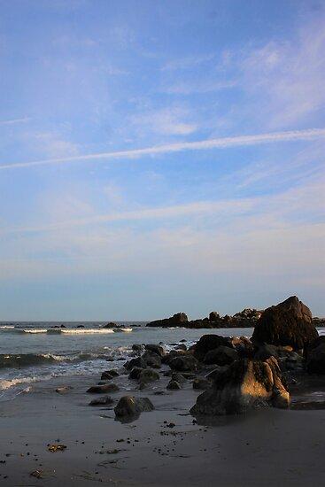 An Evening on The Hawk Beach by Melissa Glabay