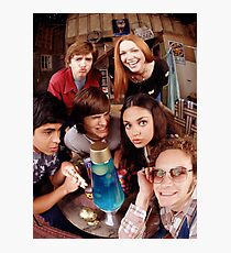 That 70's Show Cast Fisheye Selfie Photographic Print