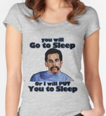 I will put you to sleep Women's Fitted Scoop T-Shirt