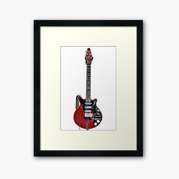 Red Special Guitar  Framed Art Print