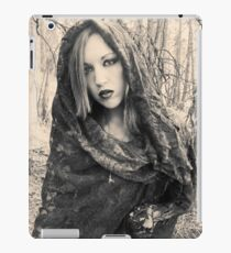 Forest Witch- classic film look iPad Case/Skin