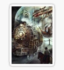 Steampunk World Sticker