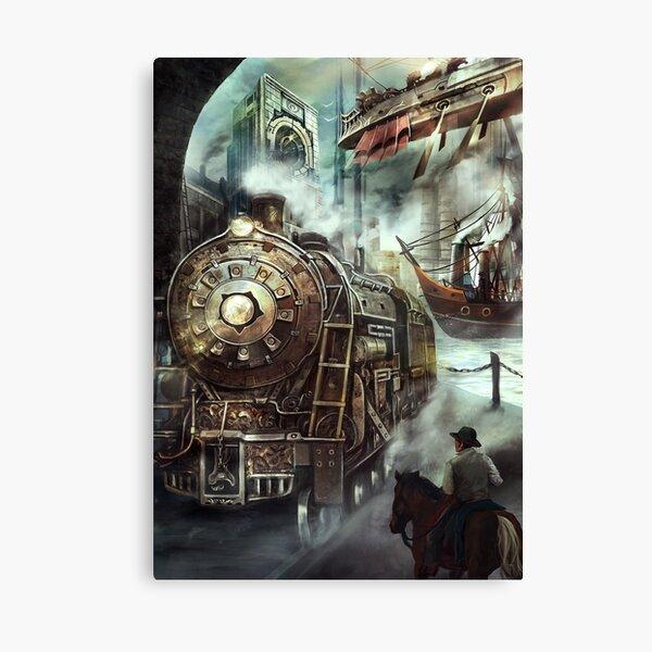 Steampunk World Canvas Print