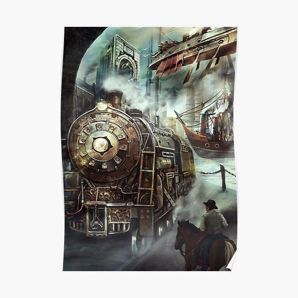 Steampunk World Poster