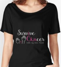 survive cancer, I can make my voice heard Tshirt Gifts for Men & women Women's Relaxed Fit T-Shirt