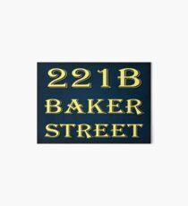 221b Baker Street Art Board
