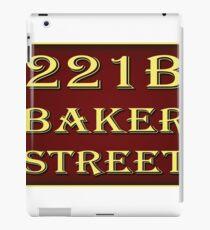 221b Baker Street - Red iPad Case/Skin