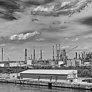 Refinery by Michael Wolf