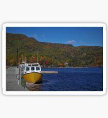Autumn in Cape Breton Sticker