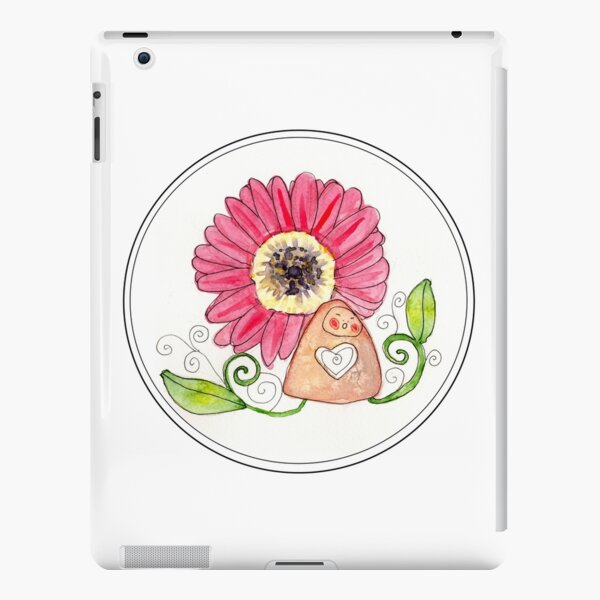 Cheerful Little Earth Mama iPad Snap Case