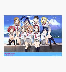 Love Live Sunshine!! Poster Photographic Print