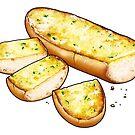 Garlic Bread by Julia Lichty