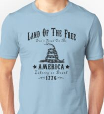 LAND OF THE FREE DON'T TREAD ON ME T-Shirt