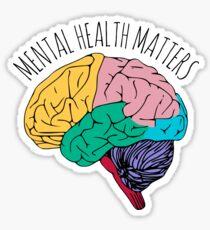 Mentale Gesundheitsprobleme Sticker