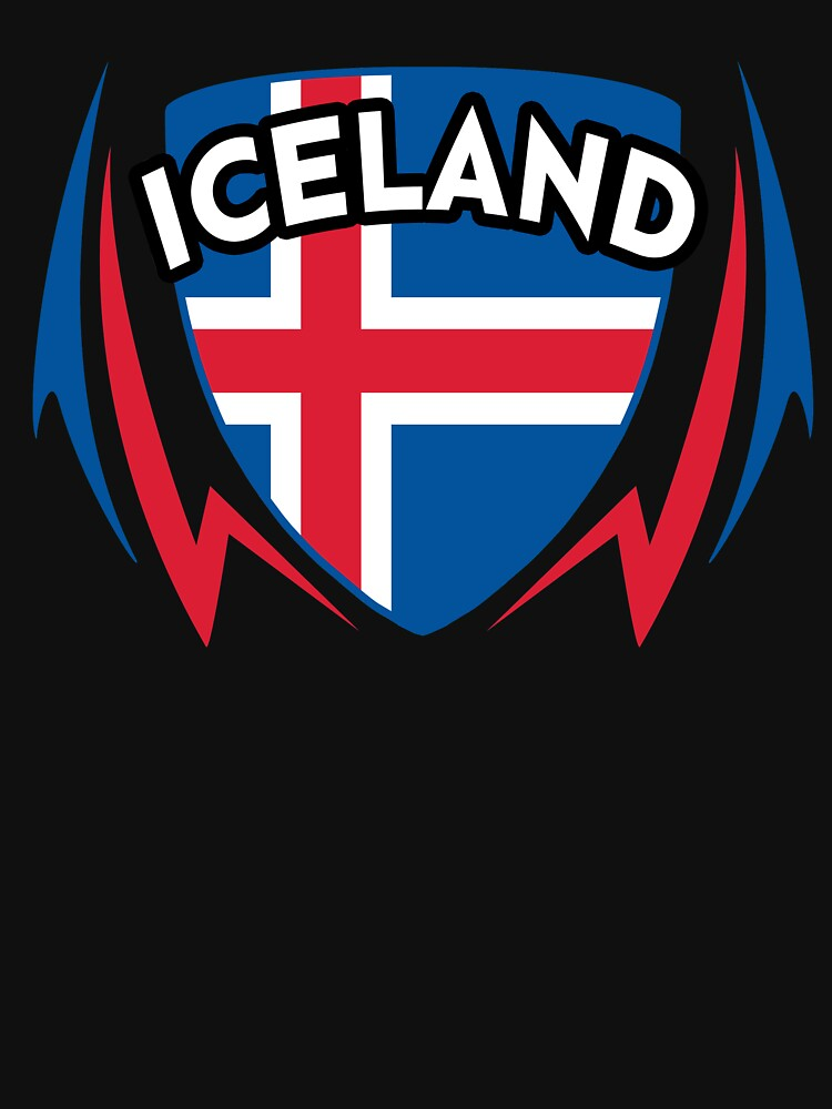 Iceland Soccer Jersey Shirt Icelandic Football Island World Cup by 7United