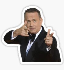 Tom Hanks - thumbs up Sticker
