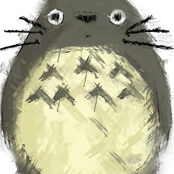 Totoro Painting  by NomadSenpai