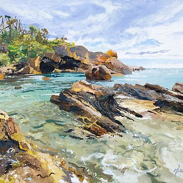 Original Painting: Mystery Bay, NSW, Australia by MartinLome