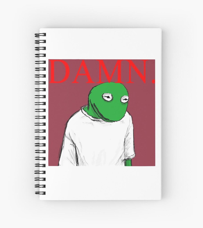 Cuadernos de espiral «MALDITA SEA. cubierta - Kermit Lamar» de ...