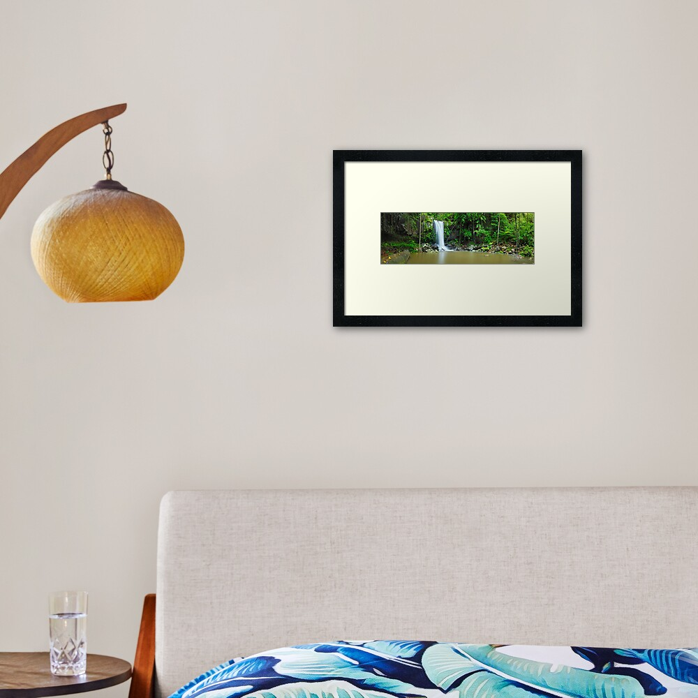 Curtis Falls, Tamborine National Park, Queensland Framed Art Print