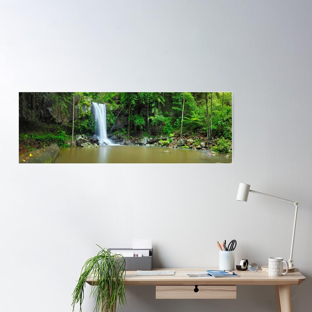 Curtis Falls, Tamborine National Park, Queensland Poster