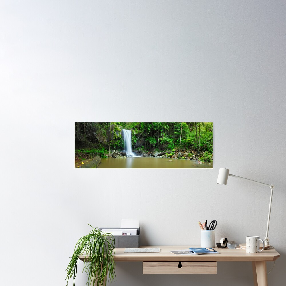 Curtis Falls, Tamborine National Park, Queensland Poster
