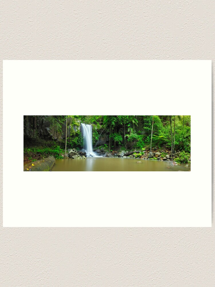 Alternate view of Curtis Falls, Tamborine National Park, Queensland Art Print