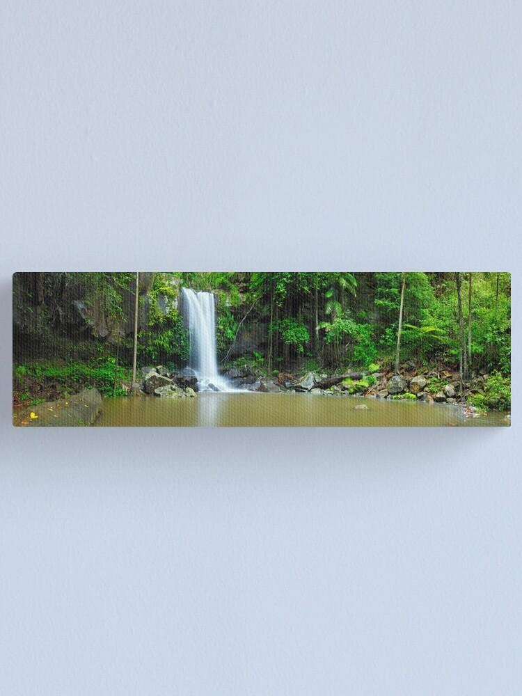 Alternate view of Curtis Falls, Tamborine National Park, Queensland Canvas Print