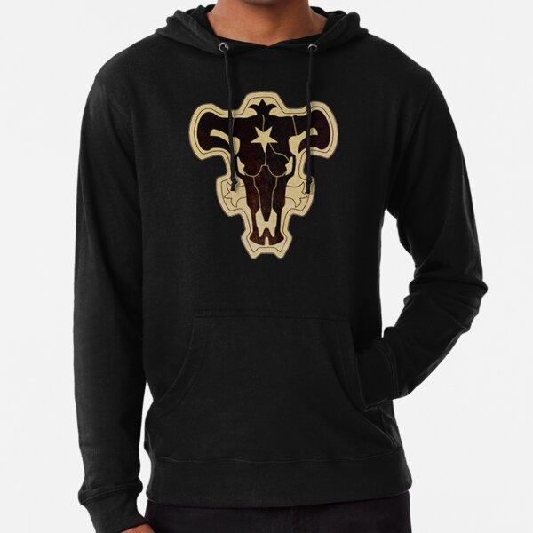Black Bulls  Lightweight Hoodie